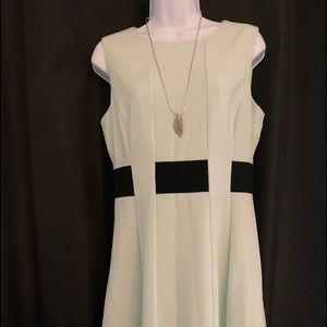 Calvin Klein Cocktail Dress pleated
